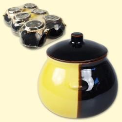 Pots céramique , 1х0,65L/ Керамический горшок