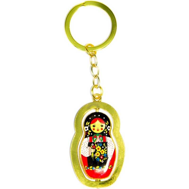Porte clés métal - Matriochka
