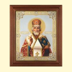 Icône Orthodoxe - Nicolas de Myre, Saint Nicolas, 13x15 cm