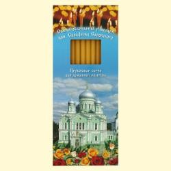 Les bougies orthodoxes, 12 pièces, hauteur 19 cm