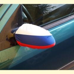 Drapeau sur le miroir (pour la voiture)