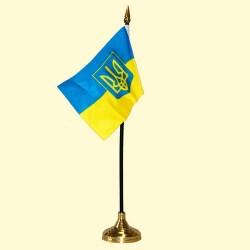 Drapeau Ukrainien 10x15 cm