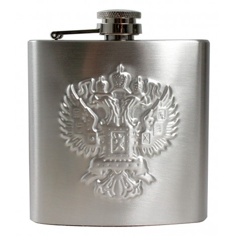 Flasque , Fiole - Russie , couler argent
