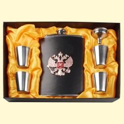Flasque , Fiole - Russie dans l'emballage avec entonnoir