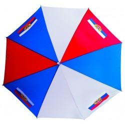 Parapluie - RUSSIE, diamètre 120 cm, hauteur 90 cm, 100% polyester