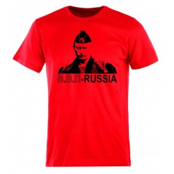 Tee-shirt Poutine - V.V.P - Russie , couleur rouge