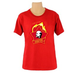 Tee-shirt CCCP - SOIS PRÊT ! , couleur rouge