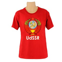 Tee-shirt CCCP -  , couleur rouge