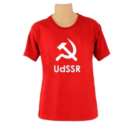 Tee-shirt CCCP  , couleur rouge