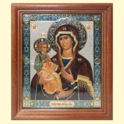 Icône Orthodoxe - La Mère de Dieu aux trois mains, 13x15 cm