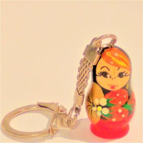 Porte clés - Matriochka, 3 cm