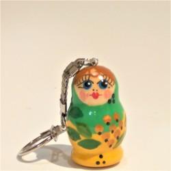 Porte clés - Matriochka, 4 cm/ Брелок