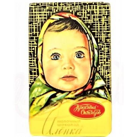 "Chocolat au lait ""Alionka"", 15 gr"