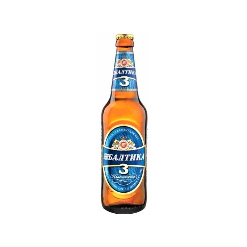 Bière baltika n°3