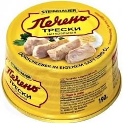 Foie de morue, 190 gr/Печень трески натуральная