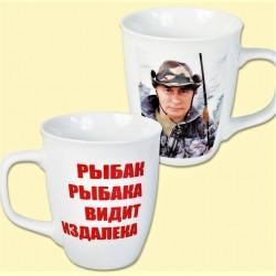 """Mug """"Poutine""""  0,4L / Кружка """"Путин"""" 0,4л"""