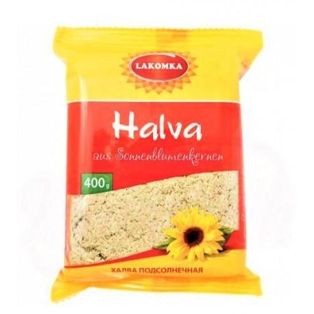 Halva de tournesol, 400 gr/Халва подсолнечная, ванильная