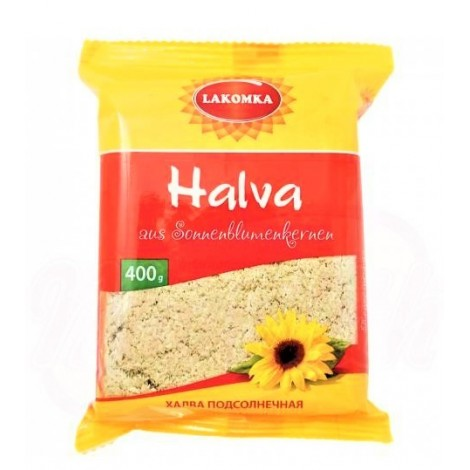 Halva de tournesol, 400 gr/Халва подсолнечная, сахарная