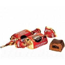 "Bonbons ""Czekoladowy z wisnia"", Wawel, 100gr/Шоколадные конфеты c вишнёвой начинкой"