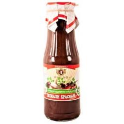 Sauce aux mirabelles rouge, piquante  - Tkemali - à la géorgienne, 360 ml
