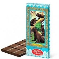 """Chocolat au lait """"l'ours maladroit"""", 75 gr"""