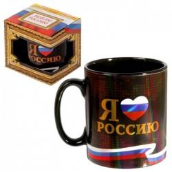 """Кружка """"Я люблю Россию"""", 300 мл"""