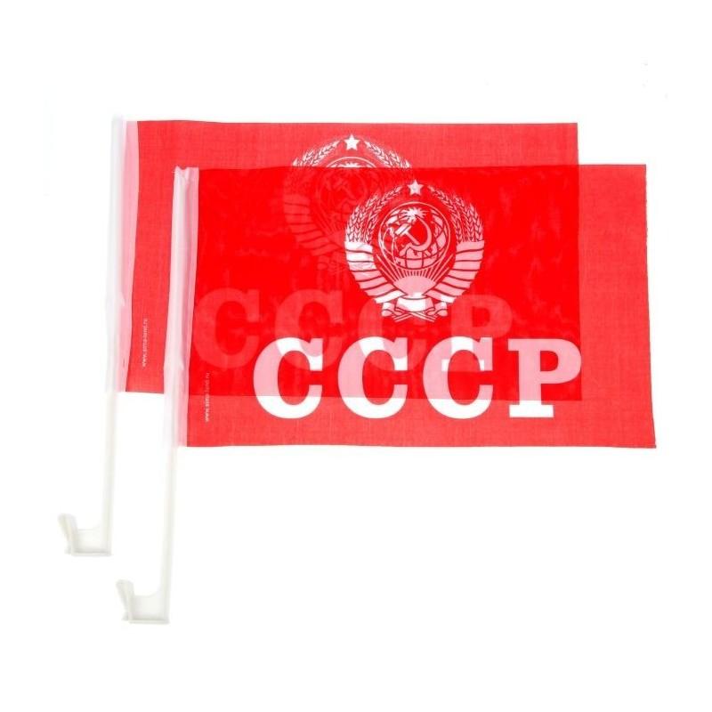 """Флаг автомобильный """"СССР"""""""