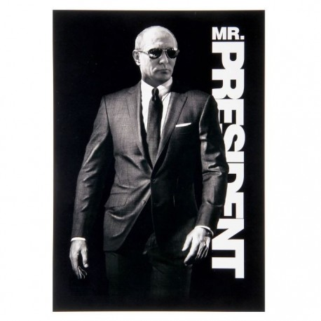 "Плакат ""В.В. Путин. Mr.President"""