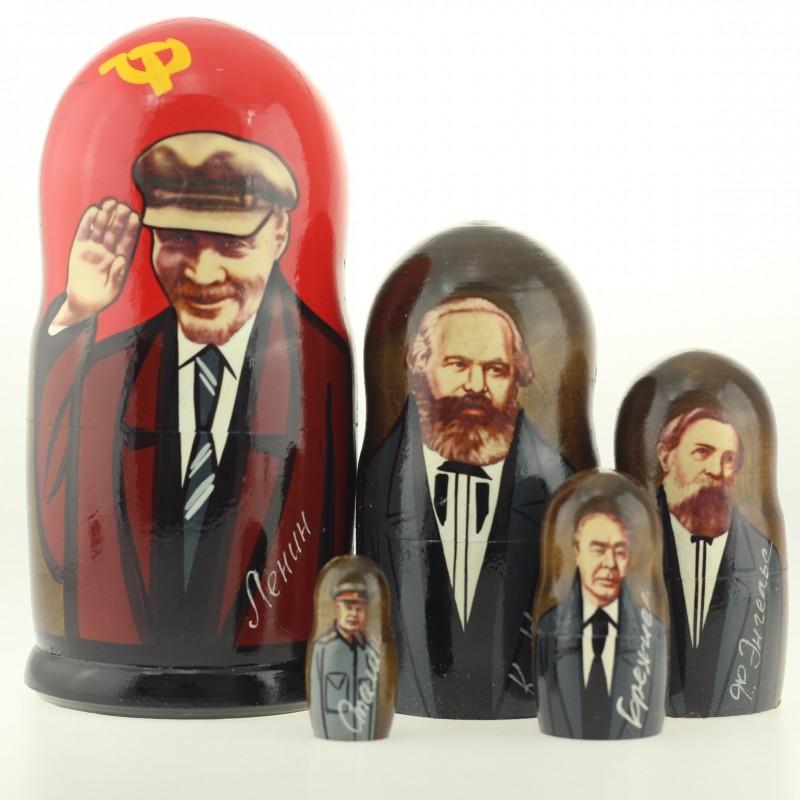 Matriochka Collection Lenine