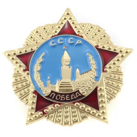 Insigne 3,5х3,5cm/Кокарда Победа СССР
