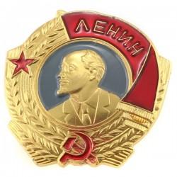 Insigne 2.0х2.5cm/Кокарда Орден Ленина