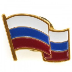 Insigne 1.0х2.0cm/Кокарда флаг РФ