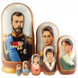 Sainte Famille Romanov, 7 pièces, hauteur 22 cm/Царская семья