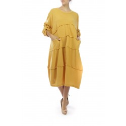 Robes longues/Moutarde