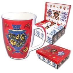 """Coffret de six tasses """"Samovar""""/Набор кружек """"Матрёшка"""", 6 кружек в наборе, 0,35 л, подарочная упаковка"""