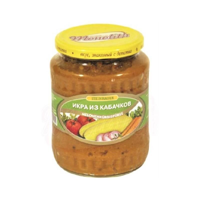 Caviar de courgettes, 680 gr