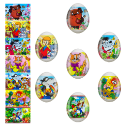L'étiquette de Pâques...