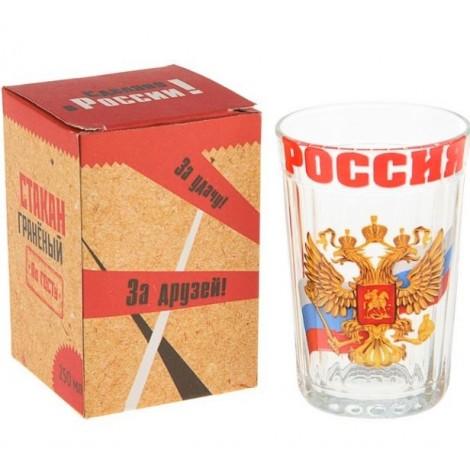"Verre russe ""La Russie"", 250ml"