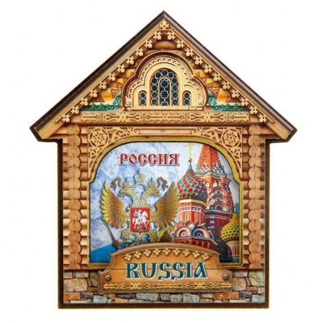 "Magnet ""La Russie"" 7х7 cm"