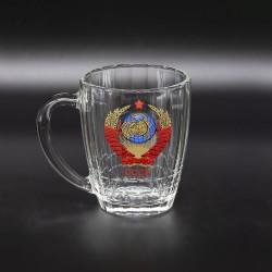 """Кружка пивная """"СССР"""" 500 мл"""