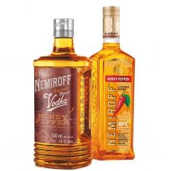 Vodka - Nemiroff - Miel et...