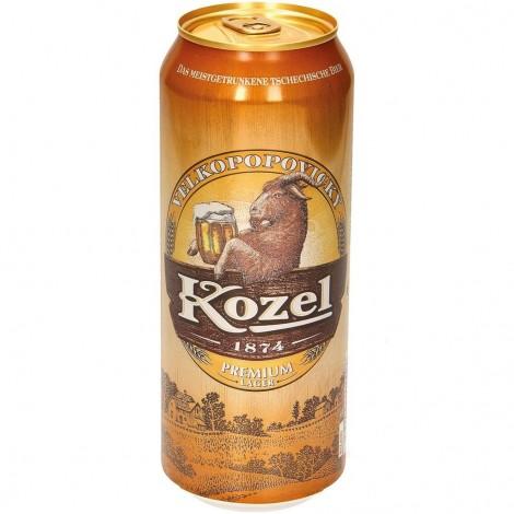 "Bière ""Kozel svetly"" blonde vol. 4,6 %, 0,5L"