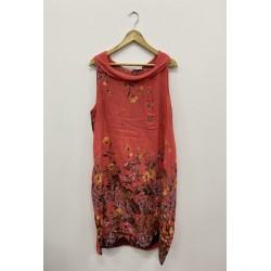 Robe courte, Couleur Rouge,...