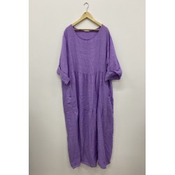 Robe, Couleur Lilas, Taille...