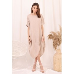 Robe, Couleur Beige, Taille...