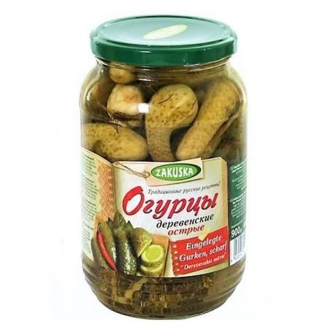 "Cornichons piquants au vinaigre ""Zakuska"", 900 gr"