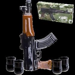 Kalashnikov AK-47 vide, à...