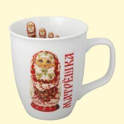 Mug Matriochka Khokhloma