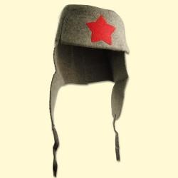 """Chapeau """"L'étoile de l'armée Russe"""" , feutre , Tailel Uniqie"""