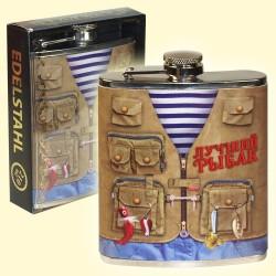 """Flasque , Fiole """"Le Pêcheur""""/Фляжка """"Лучший рыбак"""", 210 мл"""
